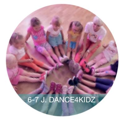 Kindertanzen 6-7 Jahre Dance4Kidz